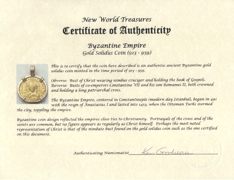 how to make a fake certificate of authenticity