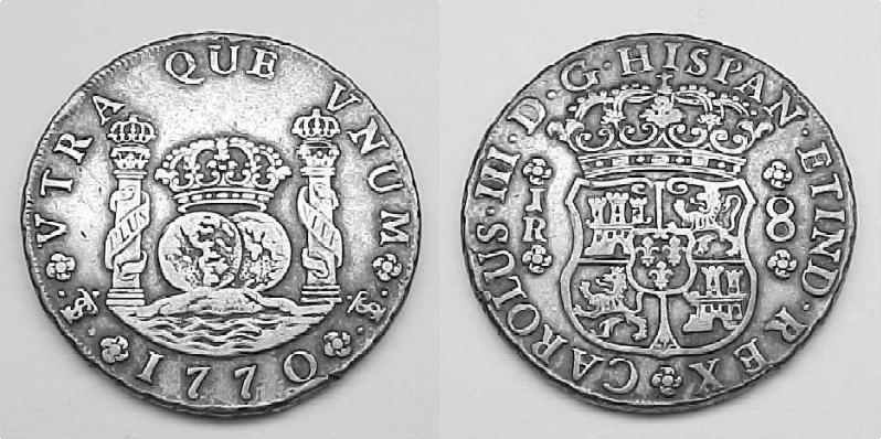 Spanish Colonial Coin Information, Spanish Coin